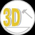 3D hab logó, Óriás habbetű, Vandálálló 3D embléma