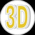 3d habbetű ongrofoam réteggel ellátva