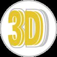 3d habbetű - többrétegű és mélységű 3d feliratok - hab a habon