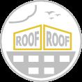 Óriás tetőreklám háromszög vagy szöget bezáró szerkezettel