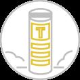 Íves előlapos totemoszlop szerkezet