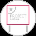 A B C D típusú project tábla