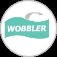 Formavágott Wobbler, Polcbelógó, Bolti reklám