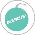 Egyszerű formájú Wobbler, Polcbelógó, Bolti reklám