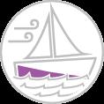 Hajó matricázás, vitorláshajó dekor , katamarán, csónak és yacht fóliázás részleges dekorral