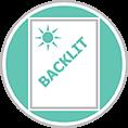 Átvilágítható fólia, Backlit film, Backlit fólia