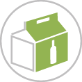 Sörtartó kartondoboz - Sörösdoboz - Sörtároló csomag - Sörösrekesz