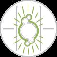 Fluoreszkáló - foszforeszkáló címke