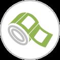 Tekercses nyomtatás - Flexo címkenyomás