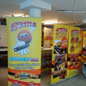 Roll-up, Pop-up, Stand hátfal