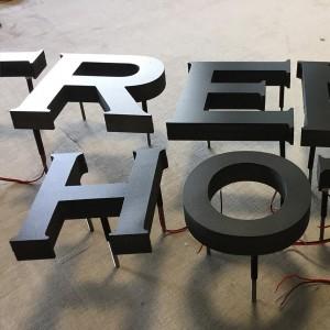 Indirekt világító Led-es 3D habbetű