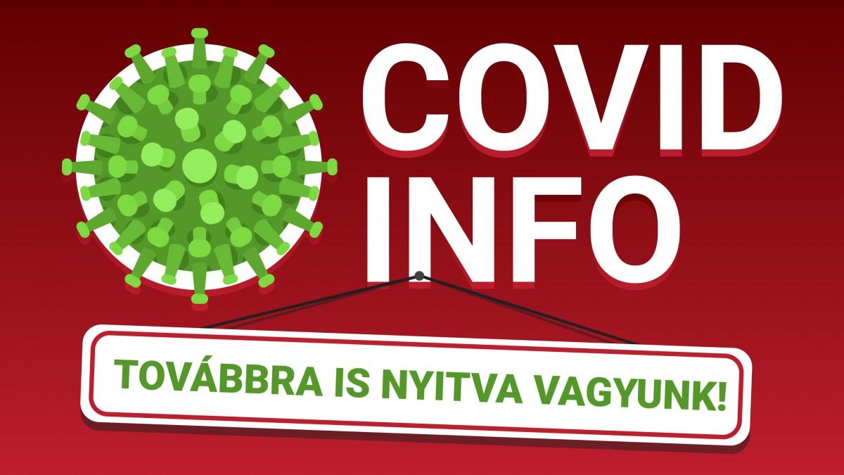Covid Info - Dolgozunk :)