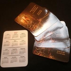 Falinaptár, Kártyanaptár, Fényképes naptár