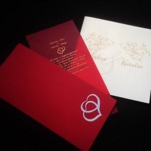 Esküvői meghívó, Ültetőkártya, Egyedi meghívó